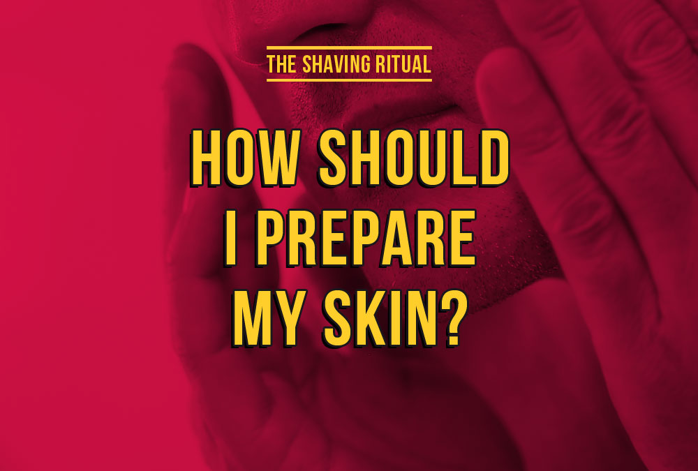 How should i prepare my skin?